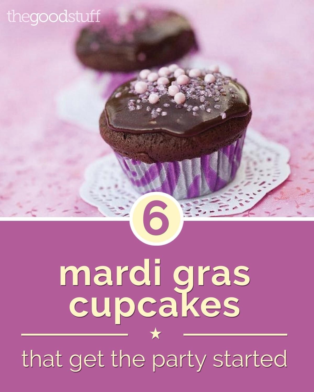 food-mardi-gras-cupcakes