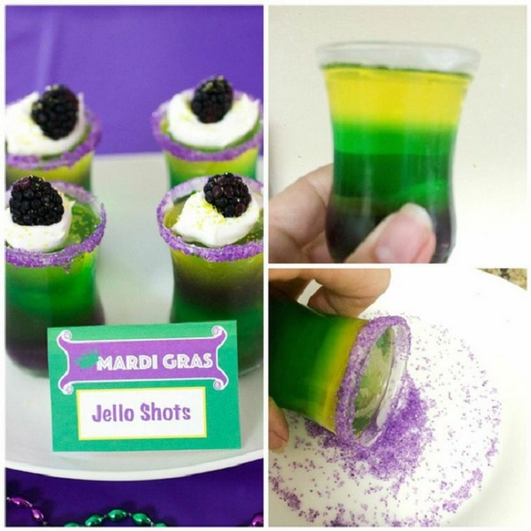 To Serve Top With Cool Whip And A Blackberry As These Are Virgin Shooters Sprinkle With Colored Sprinkles If Desired