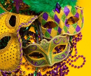 mardi gras party featured