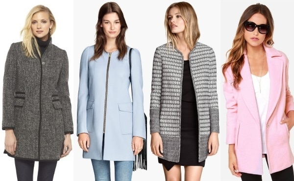 affordable coats under $100 - minimalist chic