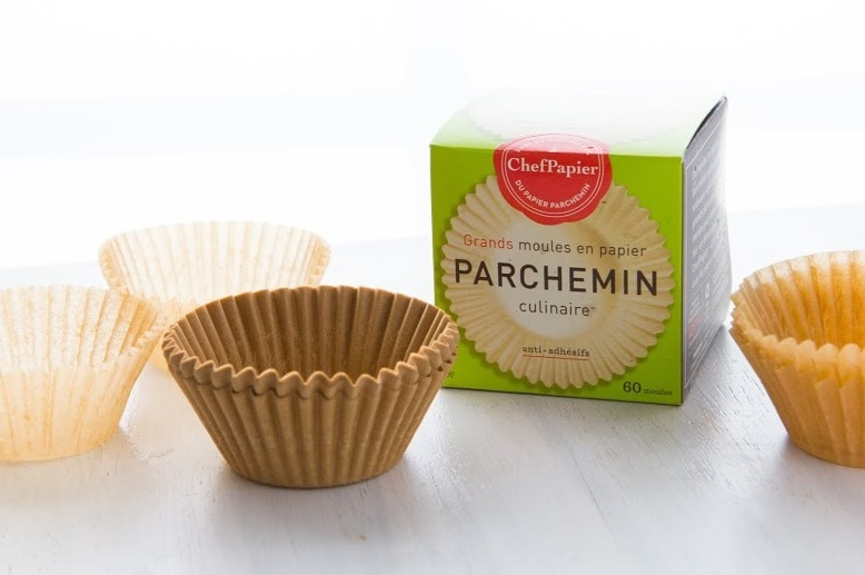 parchment cupcake wrappers