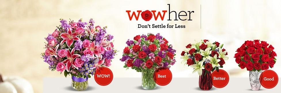 vday sales flowers