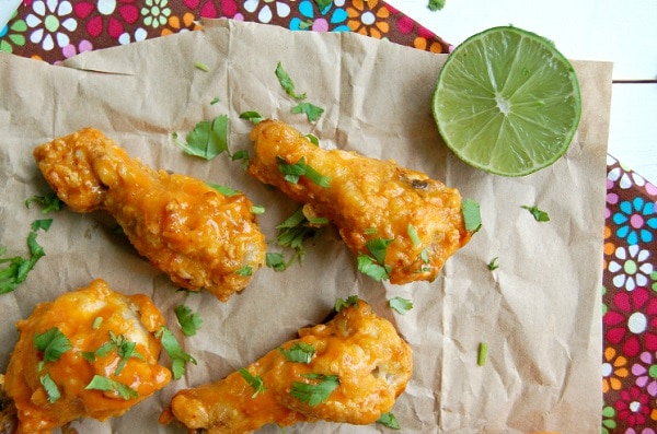 Baked Saucy Wings
