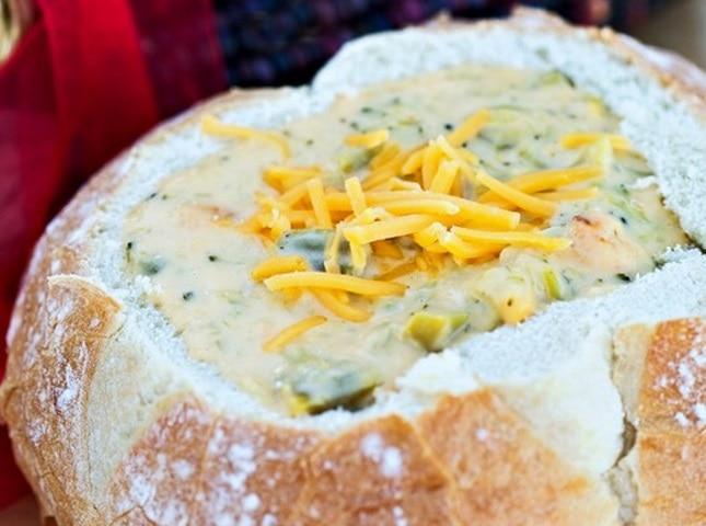 Broccoli Cheddar Soup Bowls