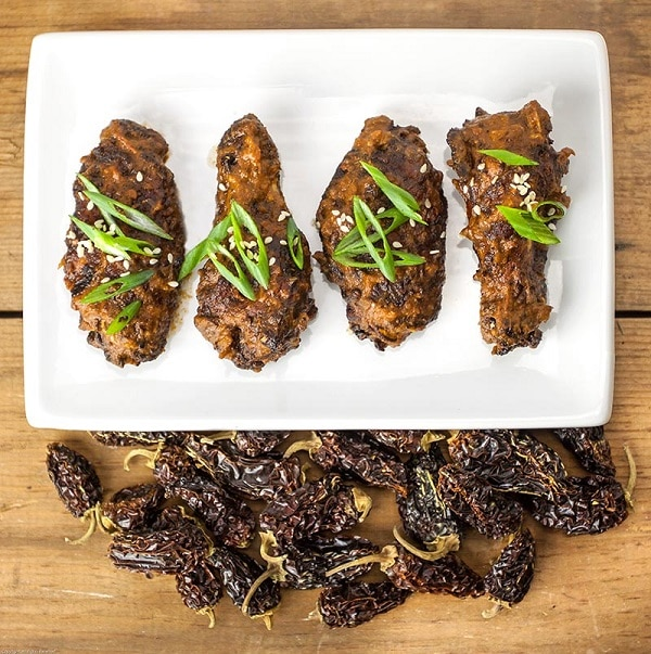 Chipotle Mole Wings