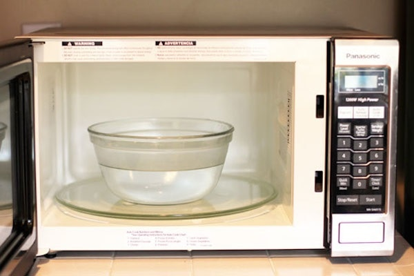 Clean the Microwave