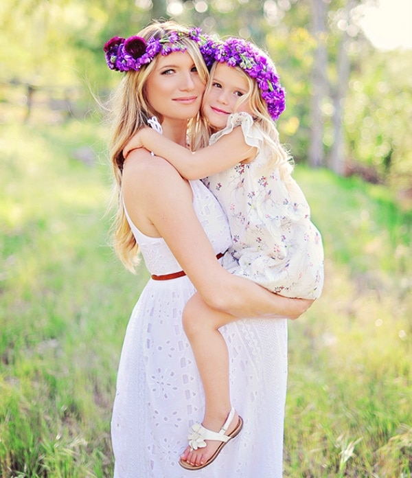 Fine Too Cute Mother And Daughter Easter Outfits Thegoodstuff Short Hairstyles Gunalazisus