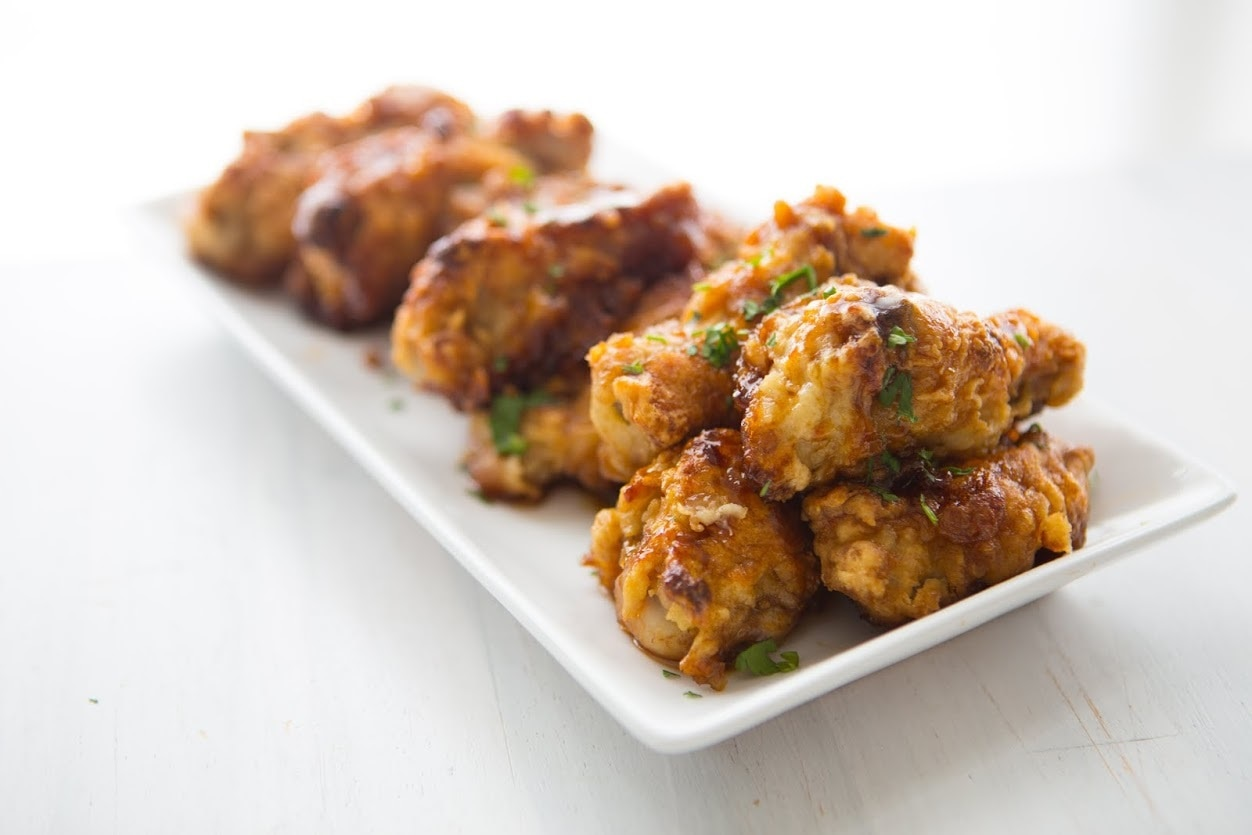 Double Crunch Buffalo Wings recipe