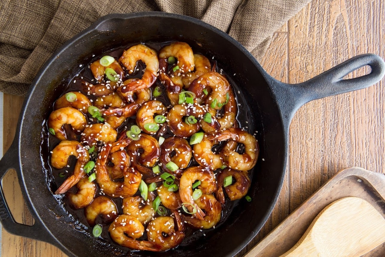 Hoisin Skillet Shrimp