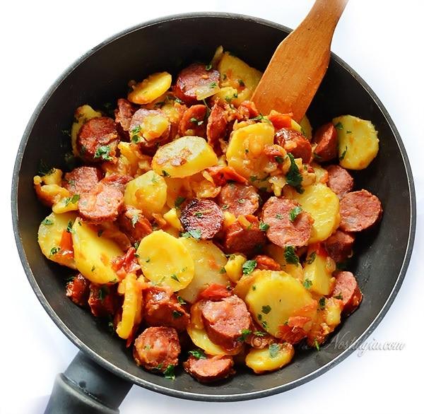 Kielbasa Dinner Skillet