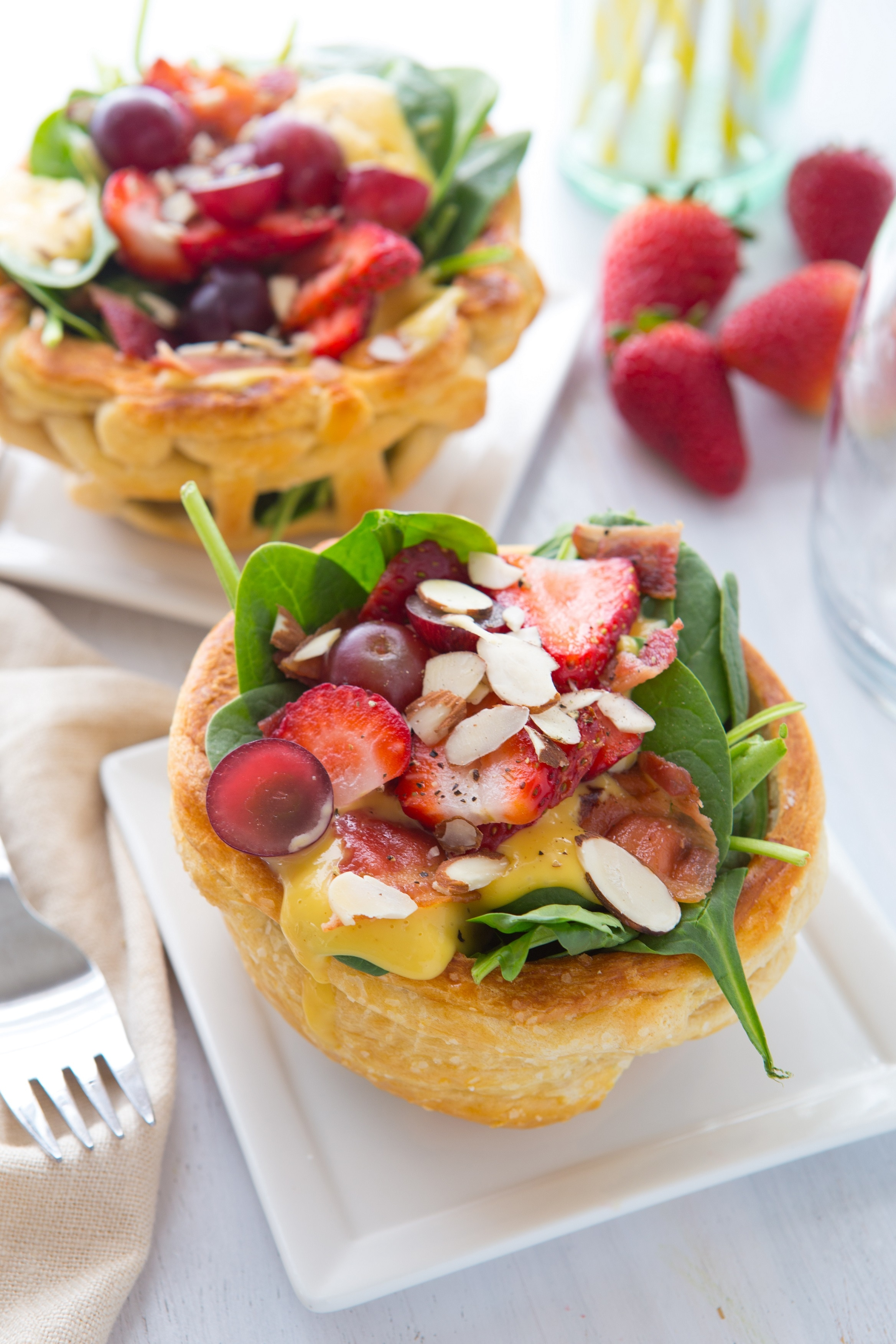 Mini Crescent Bread Bowls