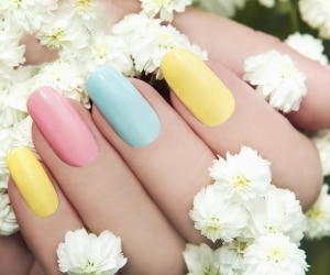 Pastel Nail Polish featured