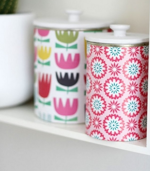 Patterned Tins