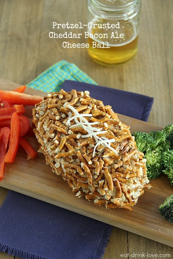 Pretzel Crusted Cheese Ball