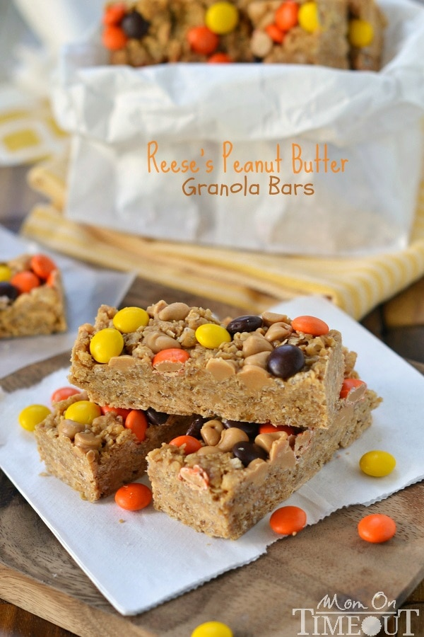 Reeses Peanut Butter Granola Bars