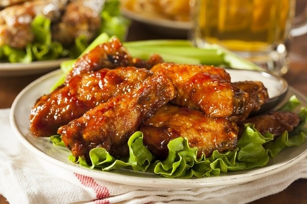 Spicy Honey Wings