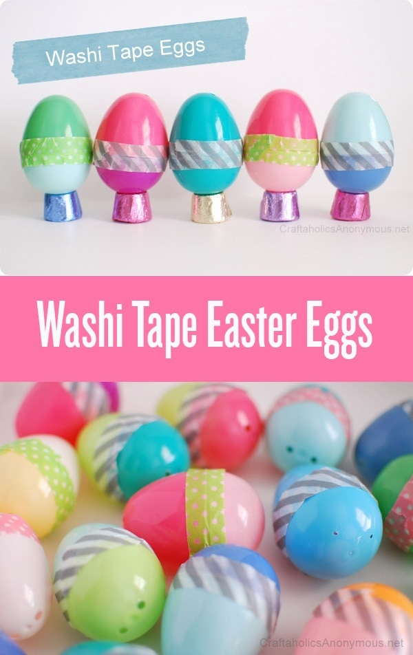 Tape Around Eggs