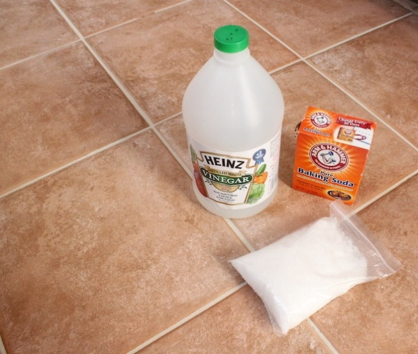 Clean Bathroom Tiles With Vinegar