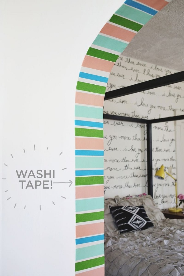 Washi Doorway