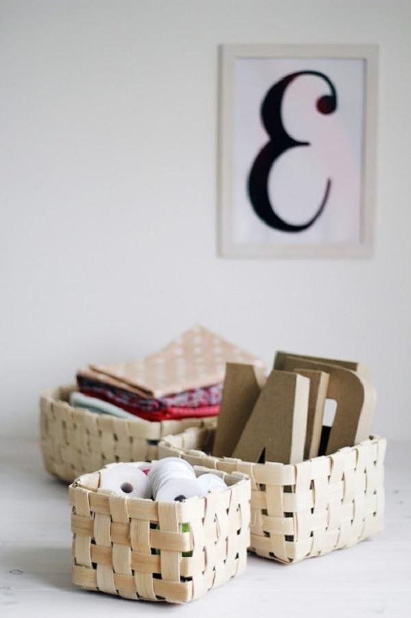 15 DIY Storage Bins Too Cool to Hide Away - thegoodstuff