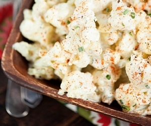 Keep it Light with Cauliflower Potato Salad