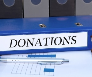 charitable donations featured
