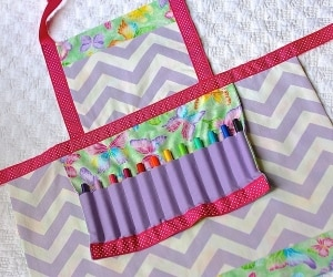 coloring apron featured
