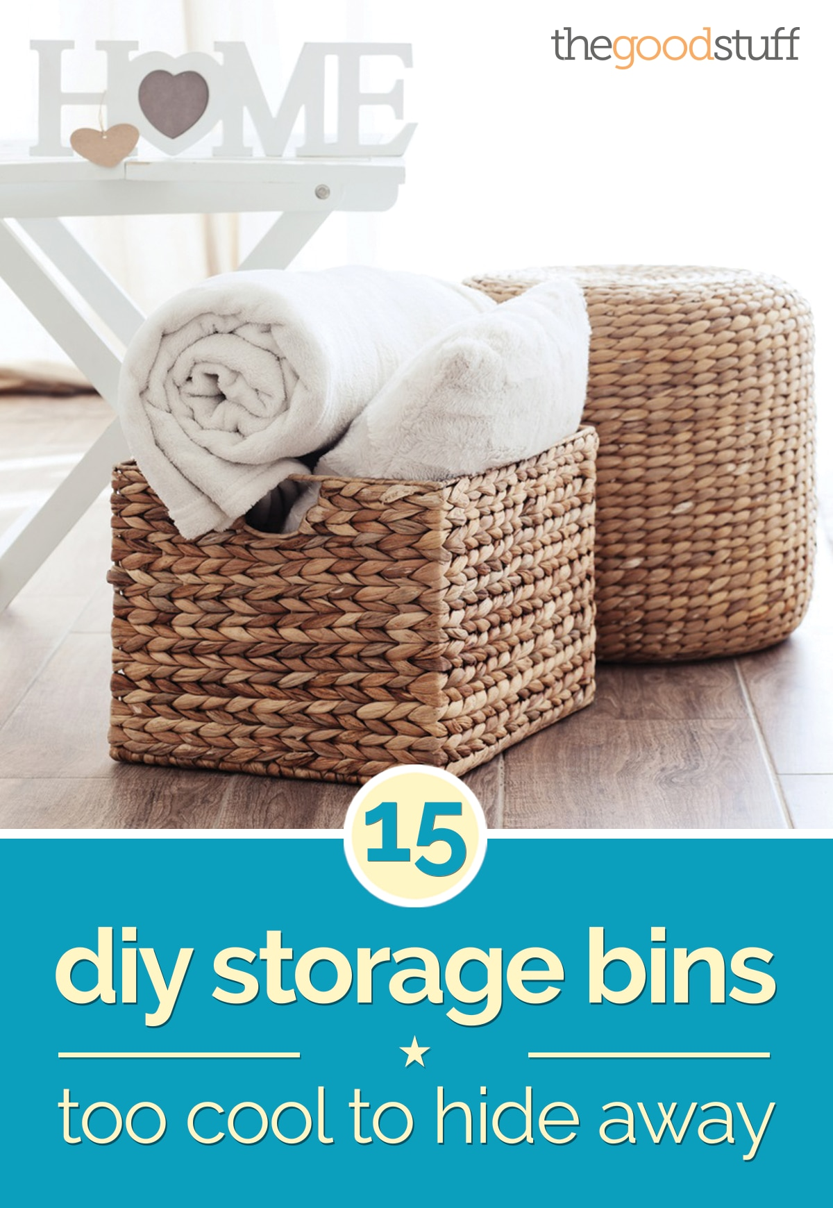 Superieur Diy Storage Bins