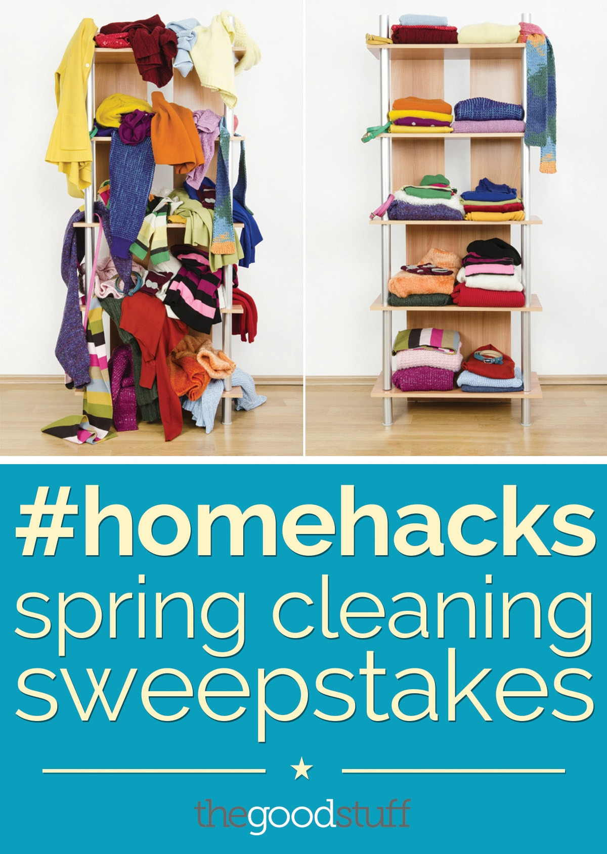 #homehacks spring cleaning sweepstakes