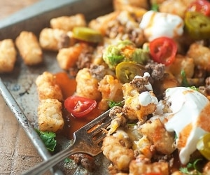 Loaded Totchos (Exclusive Recipe)