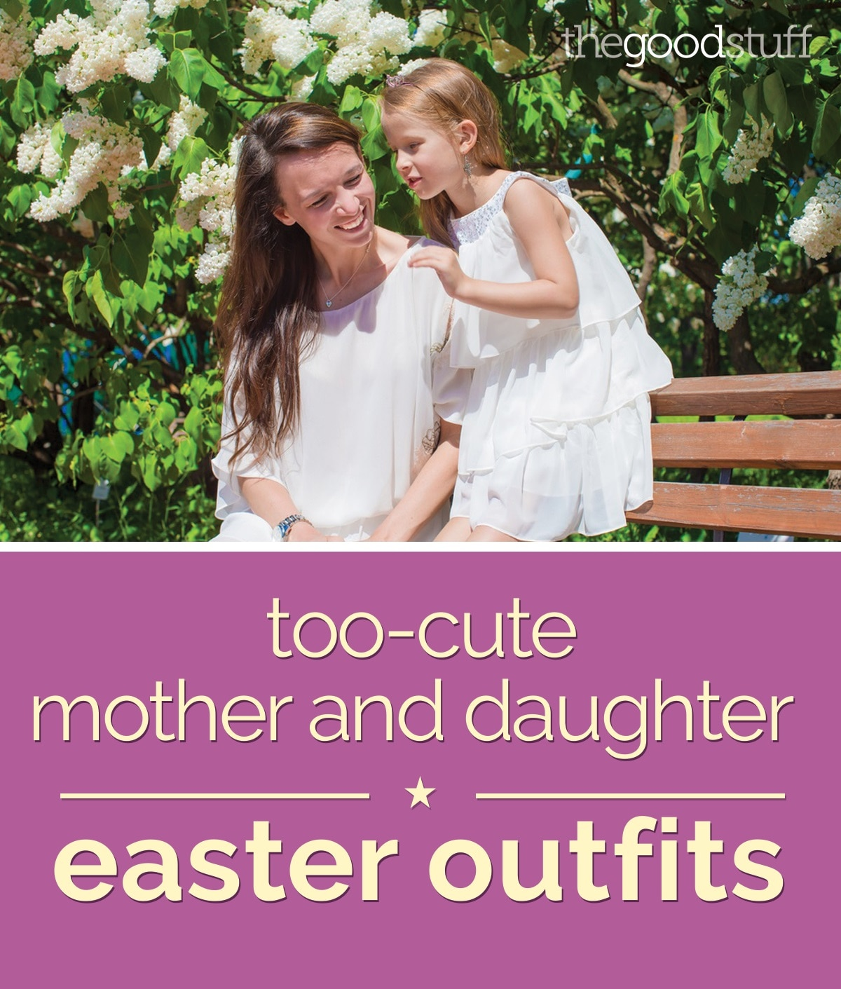 cc67feafcd Too-Cute Mother and Daughter Easter Outfits - thegoodstuff