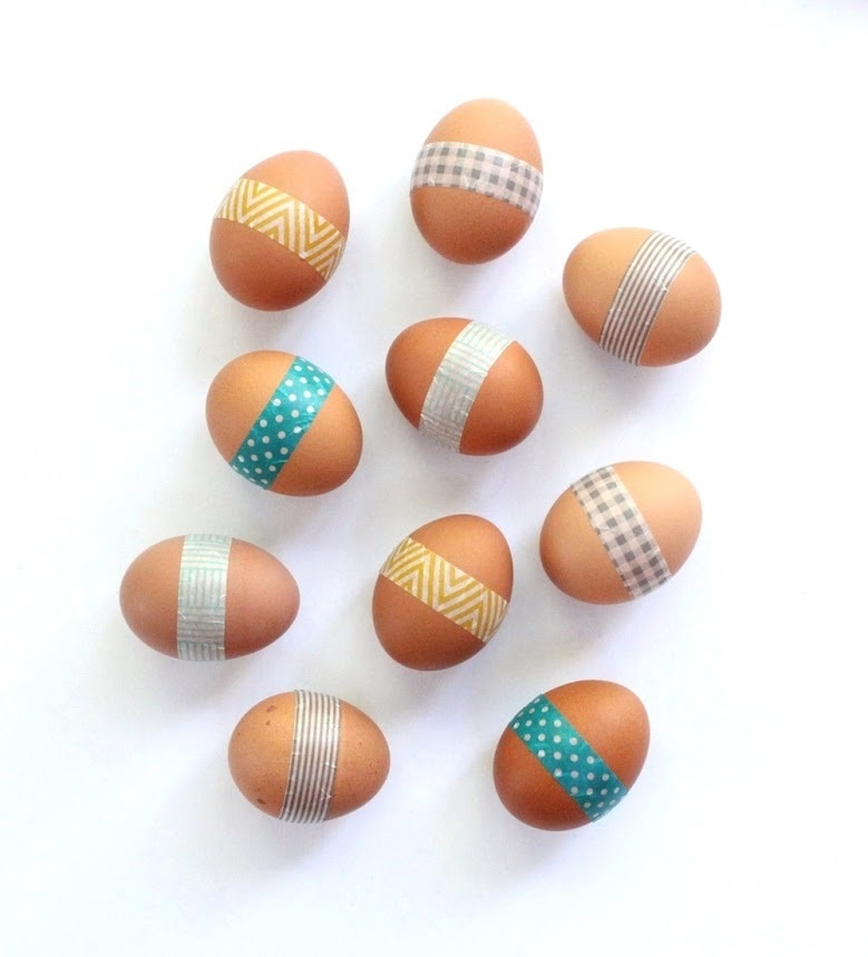 No Dye Easter Eggs Decorating Ideas Thegoodstuff