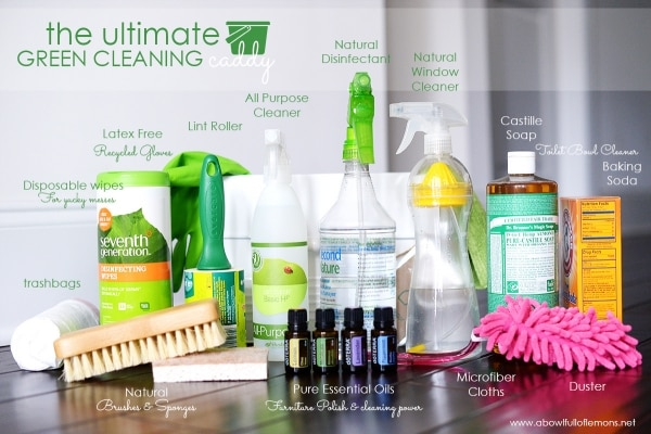 3 Cleaning Supply Ingredients