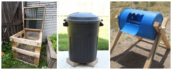 5. DIY outdoor compost