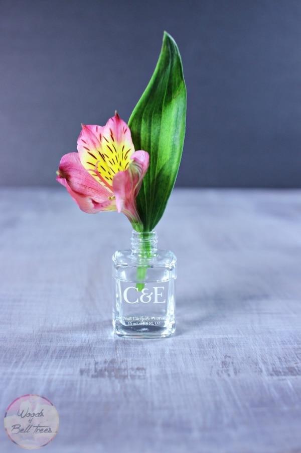 8. nail polish vase
