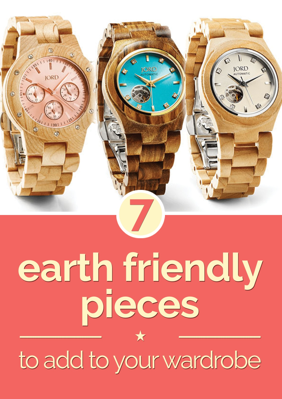 7 Earth Friendly Pieces to Add to Your Wardrobe | thegoodstuff