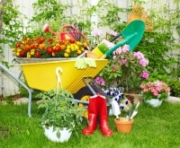 Play in the dirt try gardening with kids thegoodstuff - Must tools small garden orchard ...