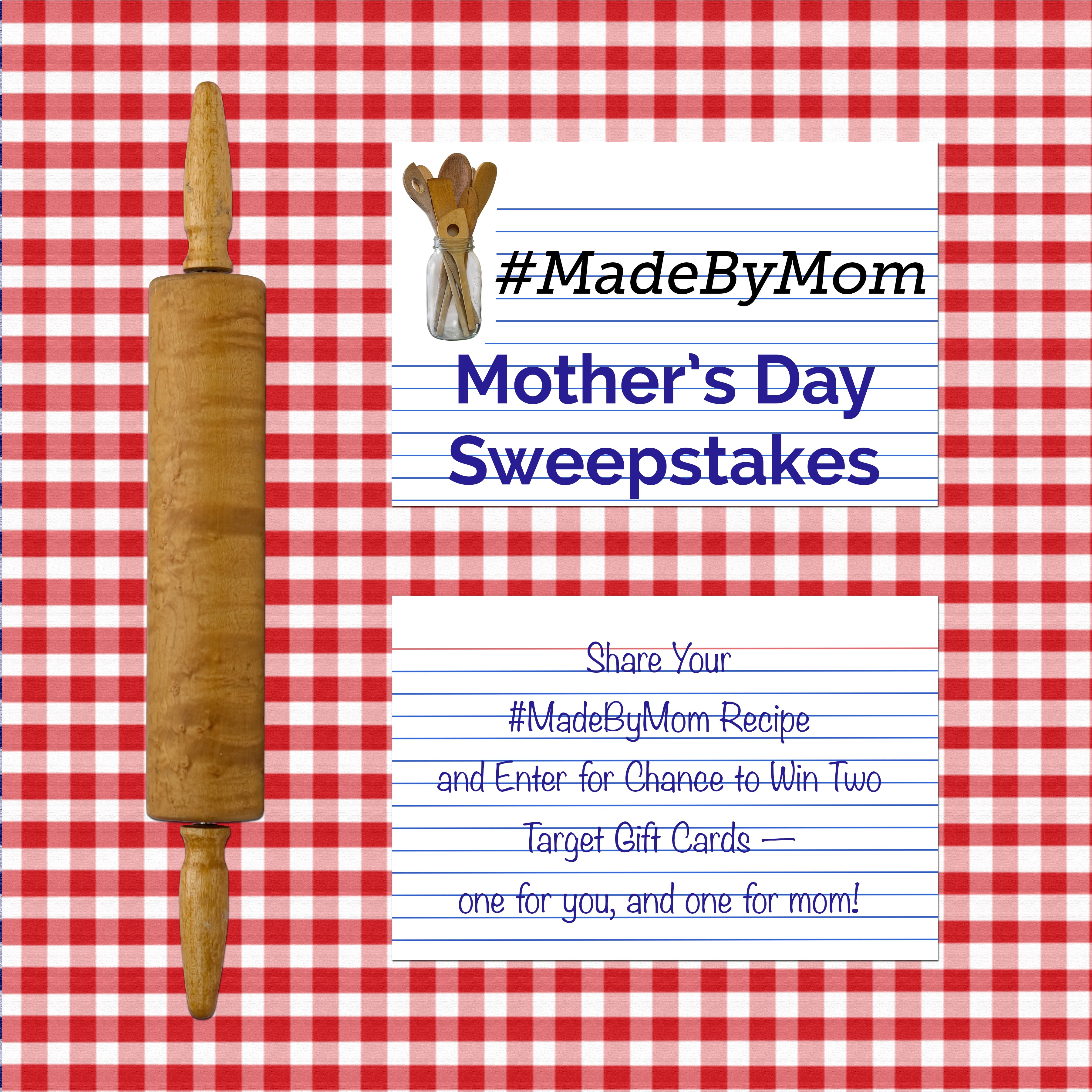 #MadeByMom Mother's Day Sweepstakes | thegoodstuff