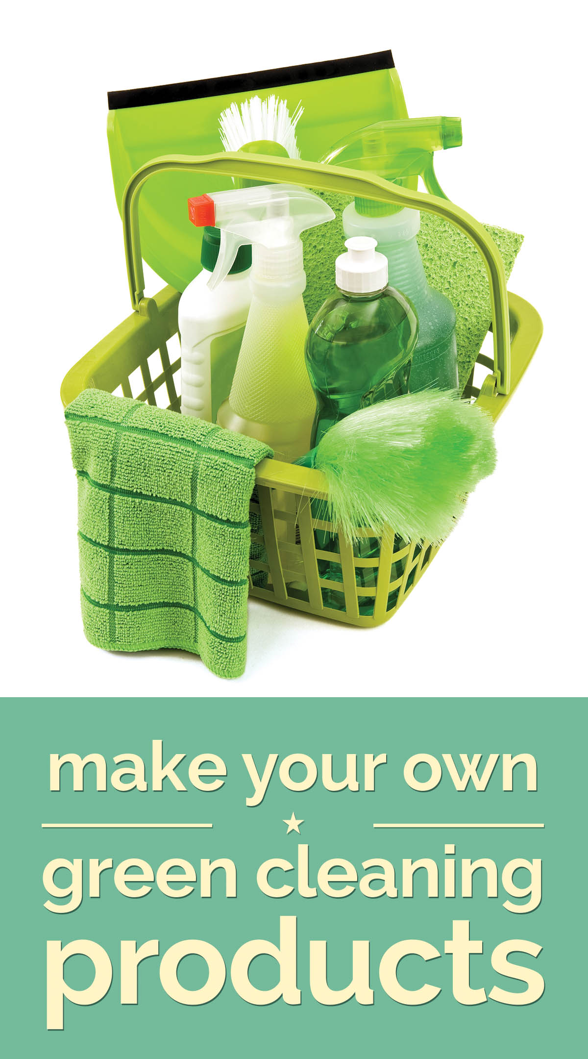 Make Your Own Green Cleaning Products | thegoodstuff