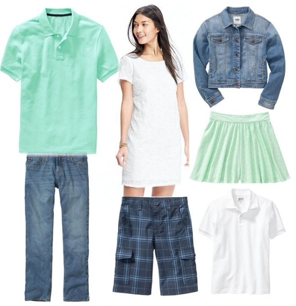 5 Spring Family Portrait Outfit Ideas from Old Navy - thegoodstuff