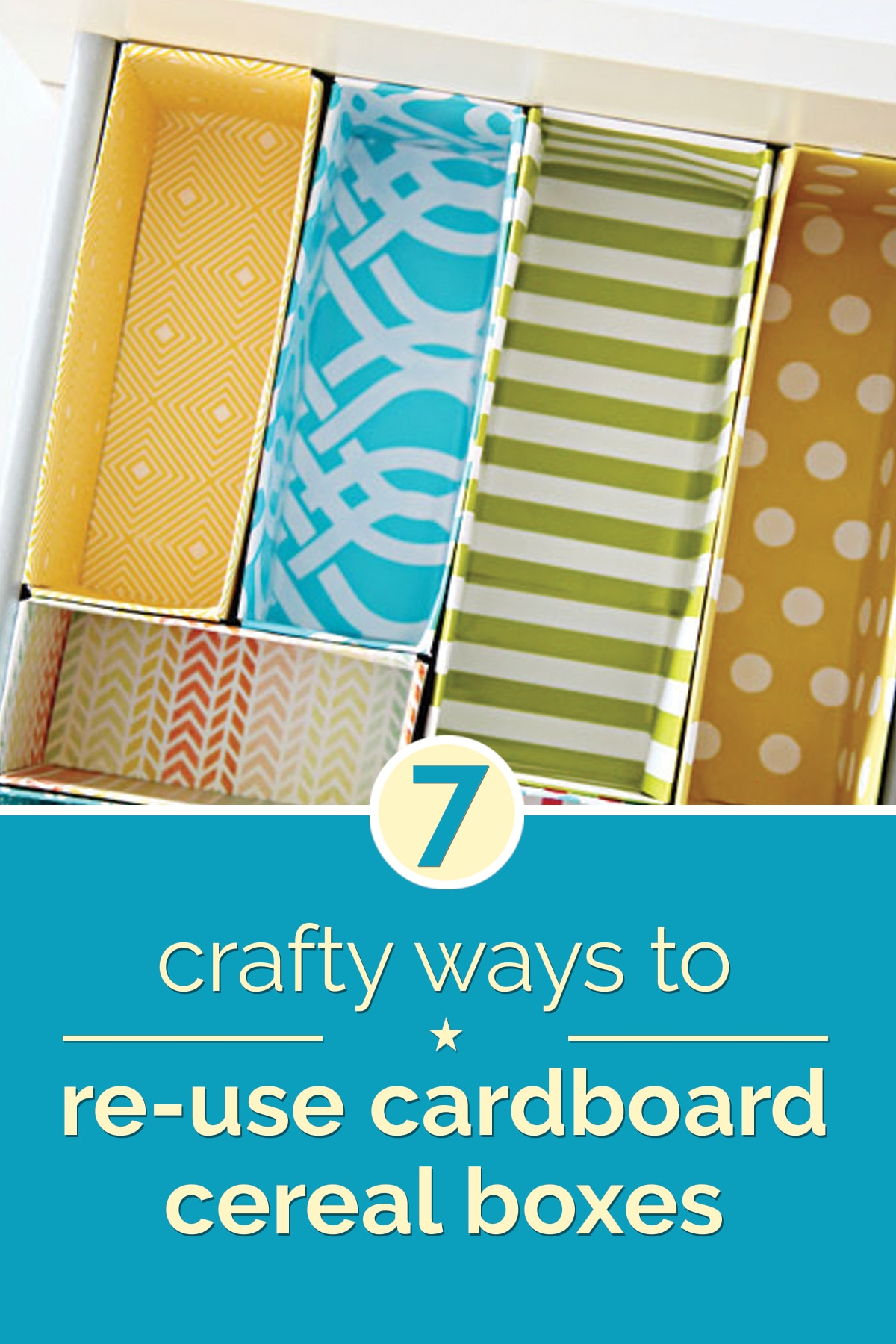 7 Crafty Ways to Reuse Cardboard Boxes | thegoodstuff