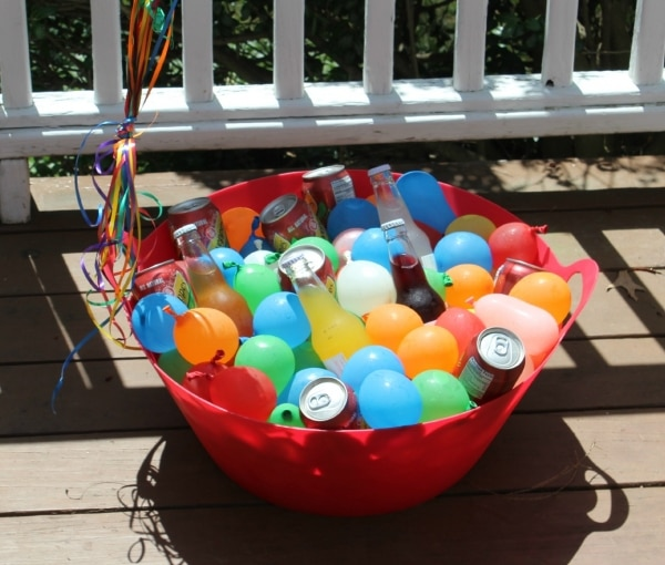 1. balloon cooler 2