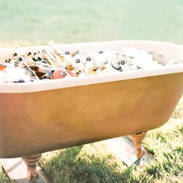18. bathtub cooler