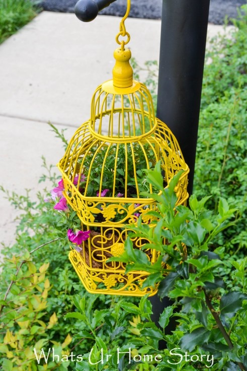 24. birdcage planter