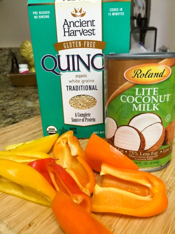 Coconut Quinoa Peppers #1