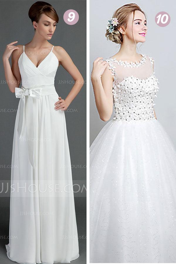 wedding dresses under 100