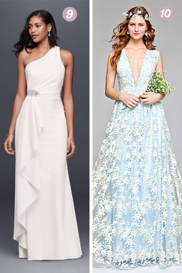 Inespensive Wedding Dresses   thegoodstuff