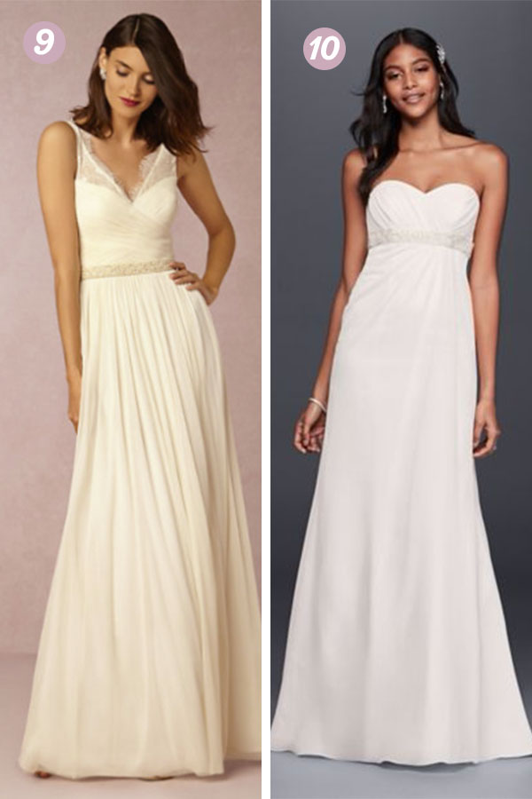 30 Cheap Wedding Dresses Online | thegoodstuff