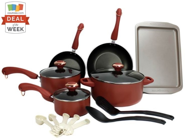 Deal of the Week: 63% Off Paula Deen Cookware Set | thegoodstuff