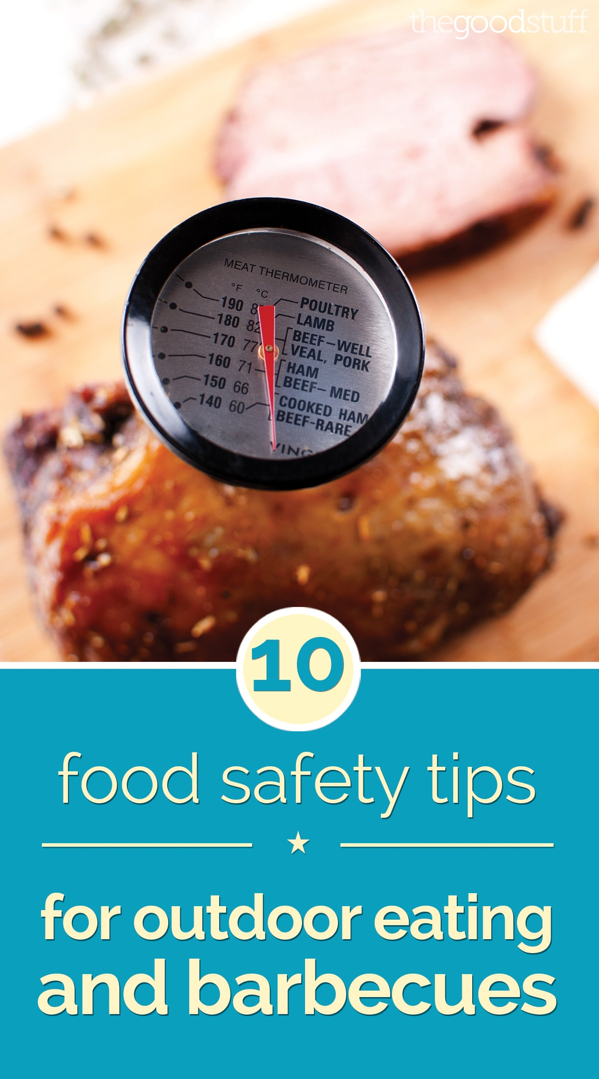 10 Food Safety Tips for Outdoor Eating and Barbecues | thegoodstuff